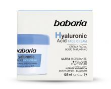 Babaria Hyaluronic Face Cream for Dry Skin 125ml